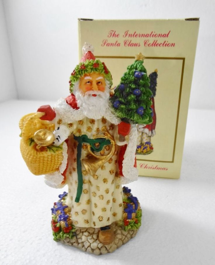 International santa claus collection welsh father