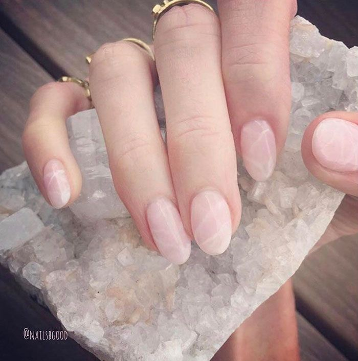 Quartz Nails Are The Newest Beauty Trend And They Literally Rock