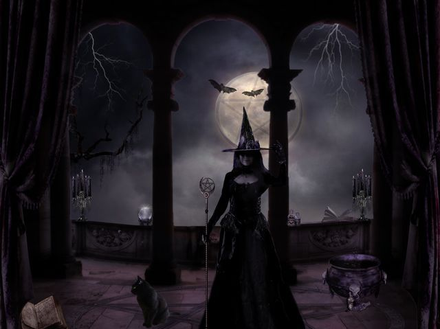 Fantasy Myth Mythical Mystical Legend Elf Elves Sword Sorcery Magic Witch Wizard Sorceress Demon Dark Gothic Goth Demoness Darkness Castle Dungeon Realm Dreamscapes Skull Reaper
