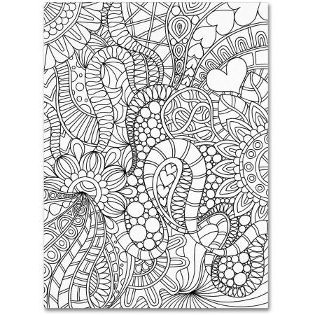 Trademark Fine Art Mixed Coloring Book 62 Canvas Art By Kathy G Ahrens Walmart Com In 2021 Coloring Books Trademark Fine Art Color Mixing