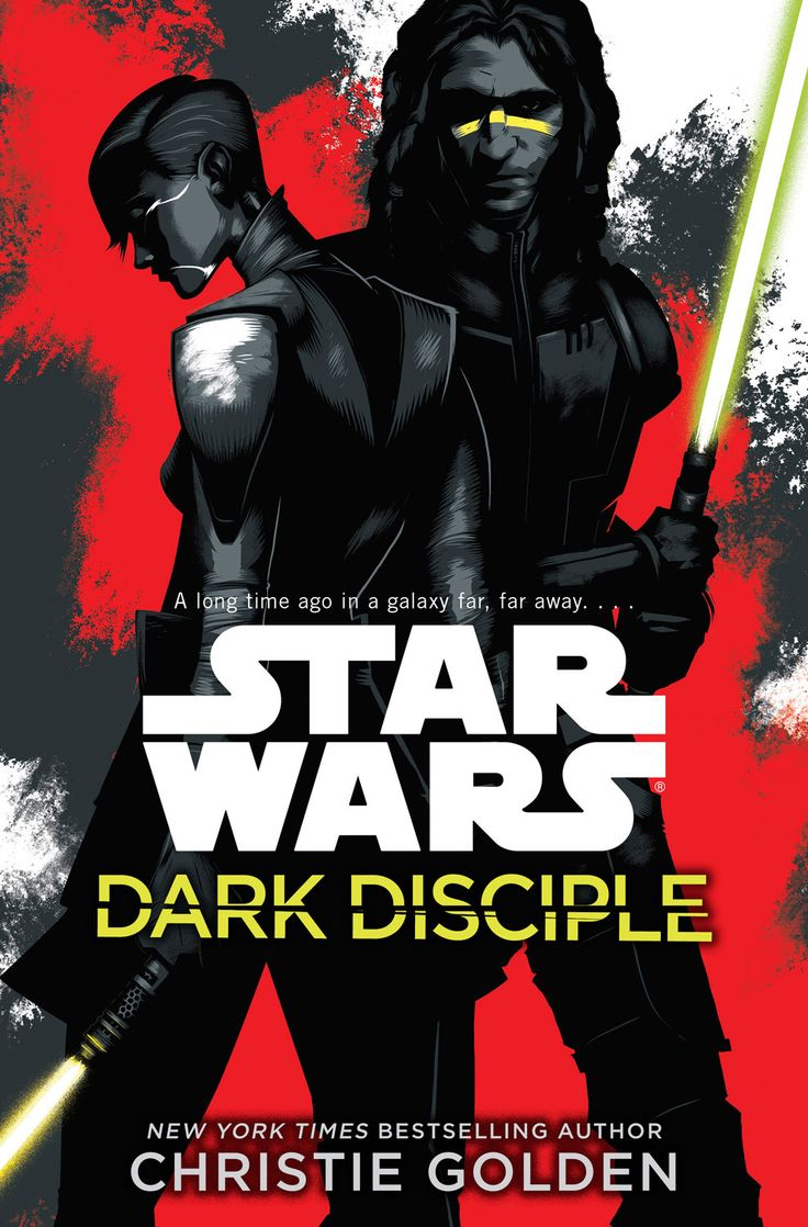 Star Wars comic. Asajj Ventress and Quinlan Vos strike back!  StarWars.com is thrilled to reveal the cover art for the upcoming novel Star Wars: Dark Disciple by Christie Golden!