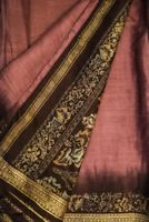 Vintage Indian Saree 100% Pure Silk Craft Fabric Ethnic Printed Sari 5YD PSS3681