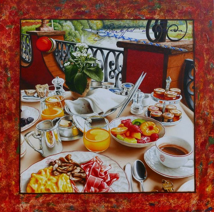 Breakfast in Toscana by Anton Molnar – jen@yanggallery.com.sg-  YangGallery