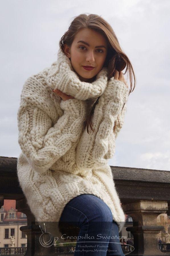 848 best creapulka images on Pinterest Big sweater Big