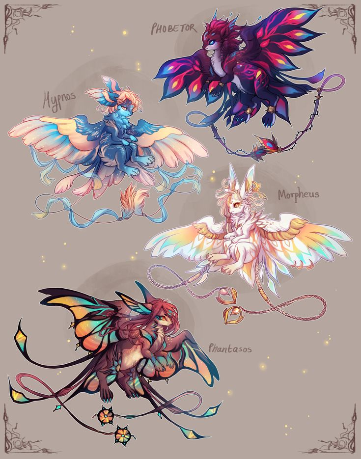 [CLOSED, thank you!] Kite Batch III: The Oneiroi by crowlets on DeviantArt