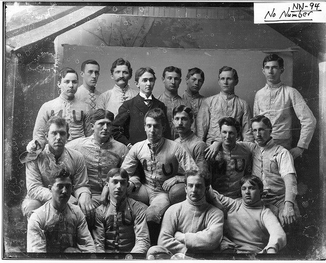 Miami University football team and manager, 1894.
