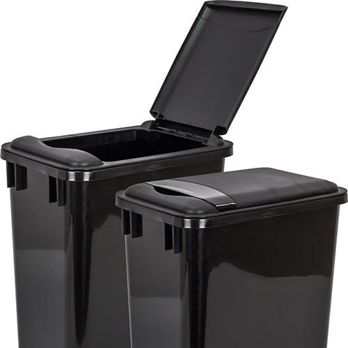 Lid for 35 Quart Plastic Waste Container fits 35-qt. Plastic Waste Container. It is made of high-quality polymer material and is durable and easy to clean.   #WasteCans #VanDykes #Storage #Kitchen #KitchenStorage