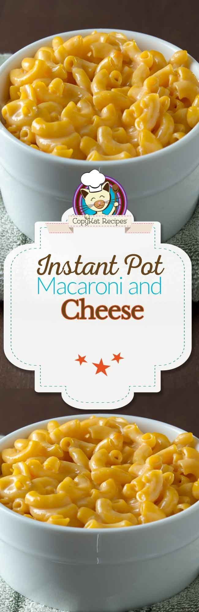 Instant Pot Macaroni and Cheese is the perfect recipe to make when you want to try something new in your pressure cooker. Yes, you can make mac and cheese.