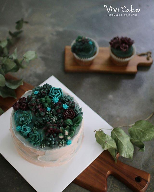 심화반 3주차. 버터크림 시간. #flowercake #buttercreamcake #flower #cake #buttercream…