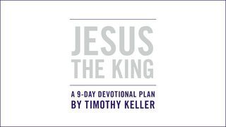 I just finished day 1 of the @YouVersion plan 'JESUS THE KING: An Easter Devotional By Timothy Keller'. Check it out here: