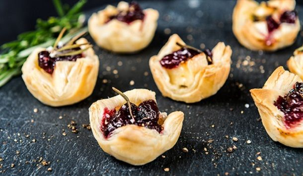 Brie and Cranberry Bites from The Hot Plate