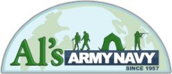 Al's Army Navy   Central Florida's oldest and largest Army Navy store! Whether it's a camping trip or the end of the world, we make sure you're ready for anything!