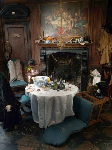 Dennis Severs's House, Whitechapel, London. Art installation set up to look like daily life as it was in 18th century. Silent Night Wed 6-9PM; Reservations required; 14GBP. Sunday Tours 12-4PM; No Reservations required; 10GBP. Tours last approx. 45 minutes.