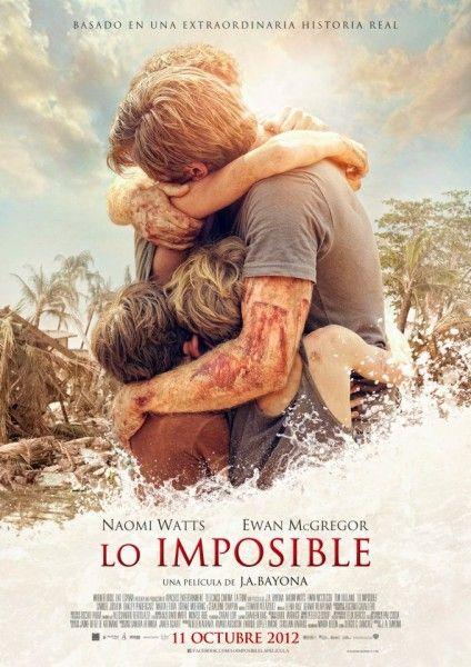 """Cuando tengas ganas de llorar... y no sepas como empezar... """"Lo Imposible"""", recomendadisima!"""
