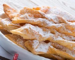 Merveilles de Mardi Gras allégées à la vanille