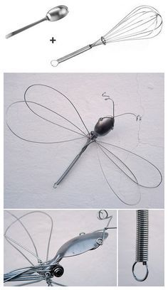 DIY Whisk Dragonfly DIY Projects | UsefulDIY.com Follow Us on Facebook ==> http://www.facebook.com/UsefulDiy
