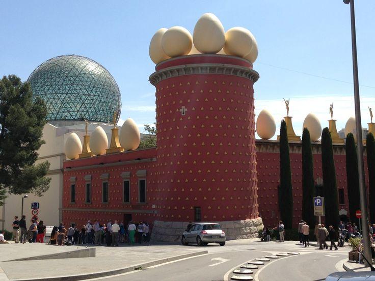 Teatre-Museu Salvador Dalí in Figueres, Cataluña