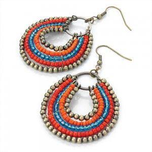 Cercei Hippie Holiday - Bijuterii Online - Jewelry-Box.ro