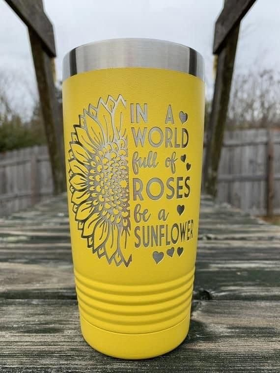 Teacher Word Art Personalized UV Printed Insulated Stainless Steel 20 oz Tumbler