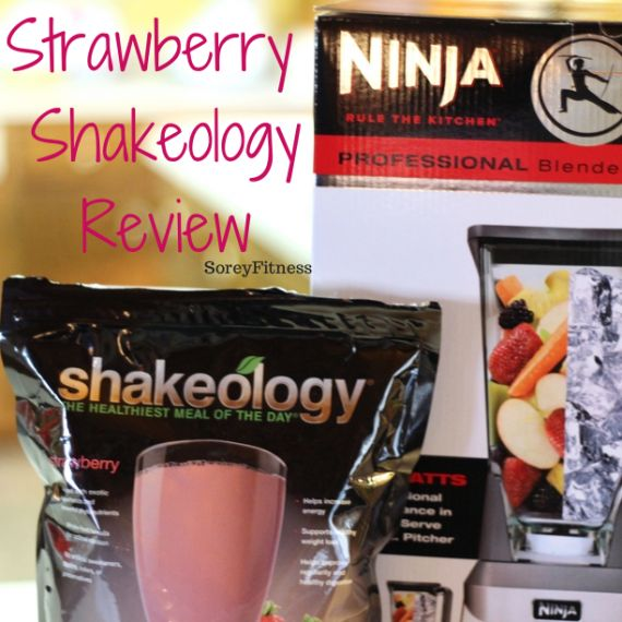 Strawberry Shakeology Review - So excited about this smoothie flavor and my new Ninja Blender from Kohls! YUM! Plus 1 great recipe and 1 to skip on this review... http://soreyfitness.com/beachbody-2/strawberry-shakeology-review-discount/
