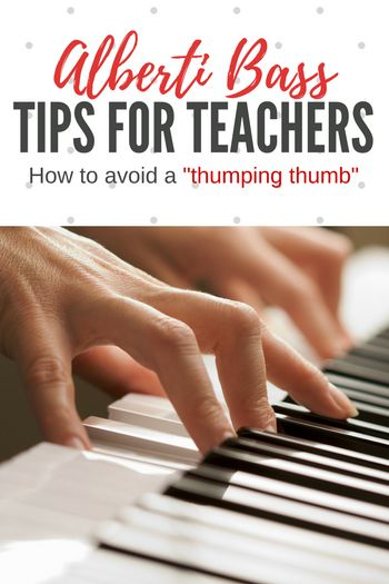 Mr. Thumpy Thumb Travels to Alberti Land – It's Q&A Day! | Teach Piano Today