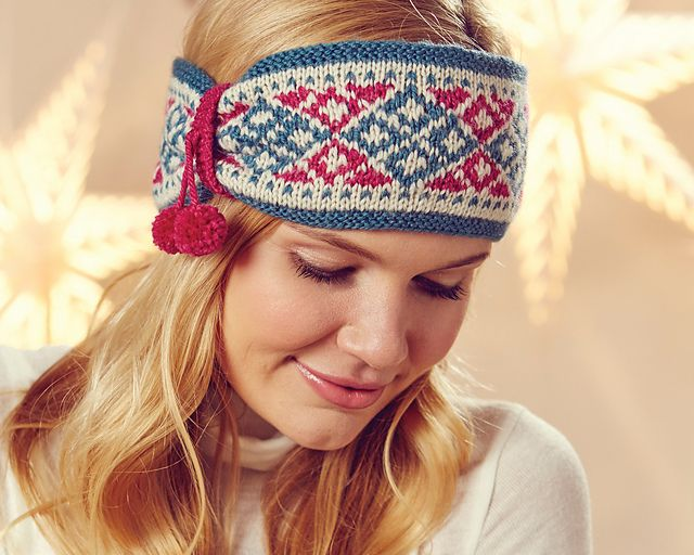Nordic Headband Knitting Pattern : 29 best images about Nordic Knits on Pinterest Norwegian ...