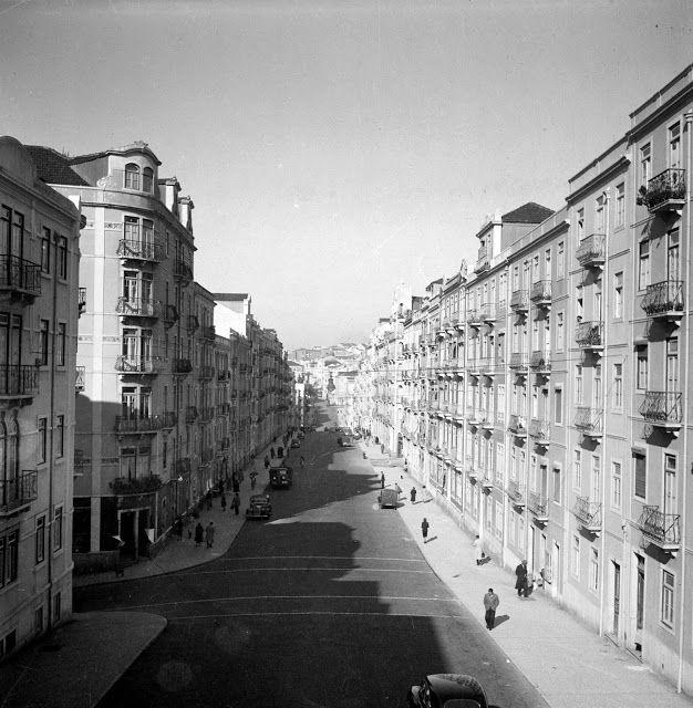 Lisboa de Antigamente: Rua Luciano Cordeiro