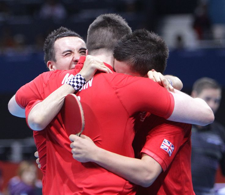 At London 2012 there was great team spirit from the GB Table Tennis team. Some of those players will be back in action on #NPD2013.