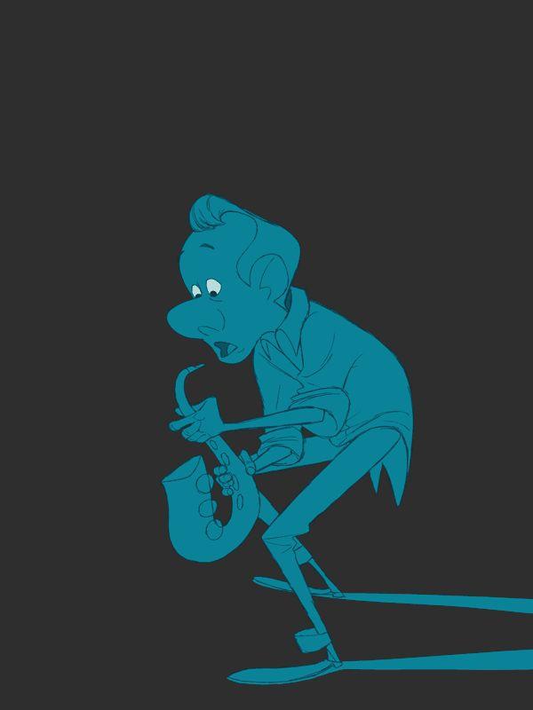 Hanna Abi-Hanna's Animation Blog: Sax