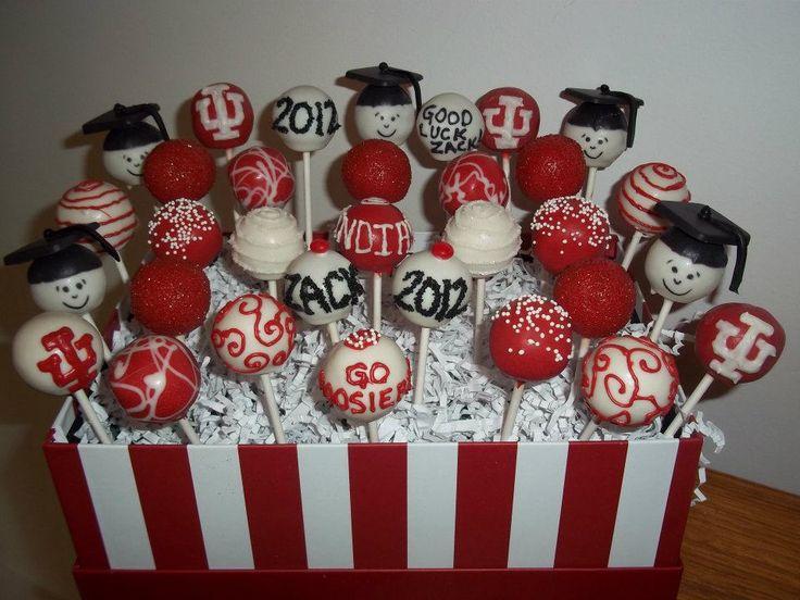 Graduation Cake Pops                                                                                                                                                                                 Más