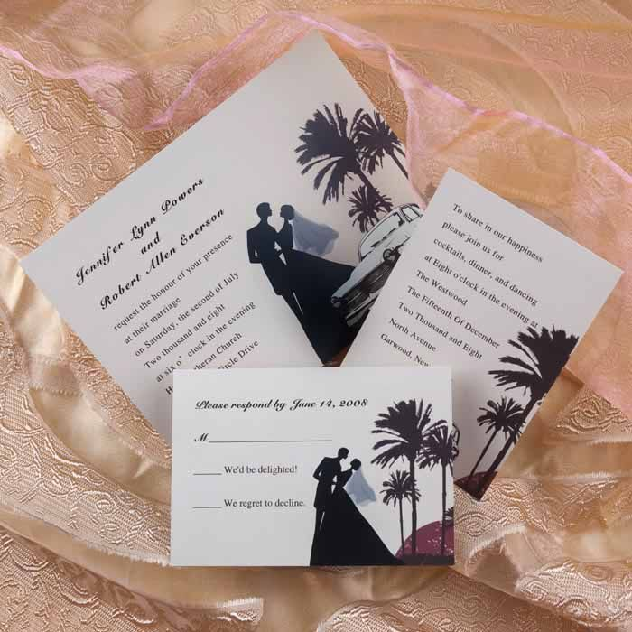 For more formal wedding invitation wording ideas