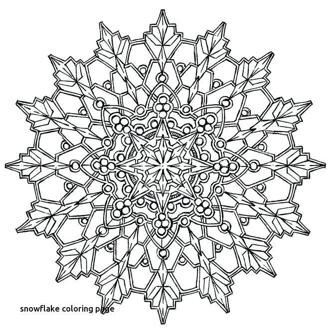 Snowflake Coloring Pages For Adults Snowflake Coloring Pages