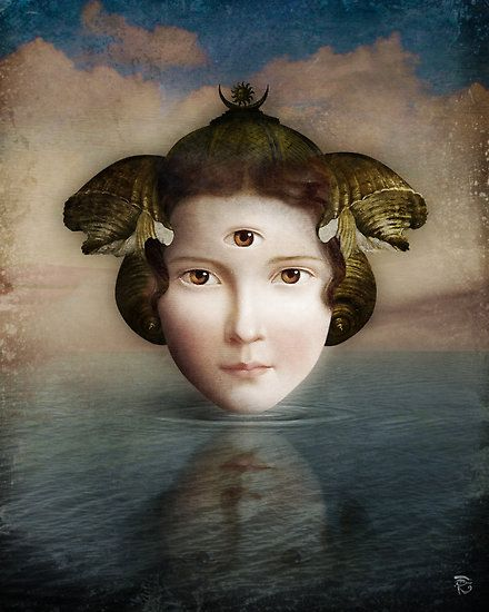 The Mirror by Christian Schloe