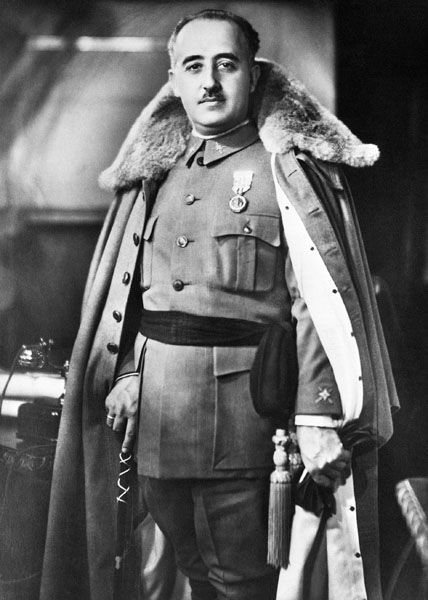 Generalissimo Francisco Franco y Bahamonde, caudillo of Spain