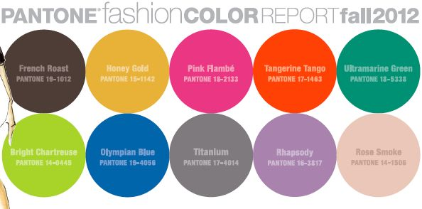 Fall 2012 Color Spectrum pantone: Fall Color Palettes, Color Fall, Fall Colors, 2012 Colors, Color Spectrum, Fall 2012, Pantone Color, 2012 Fall, Color 2012