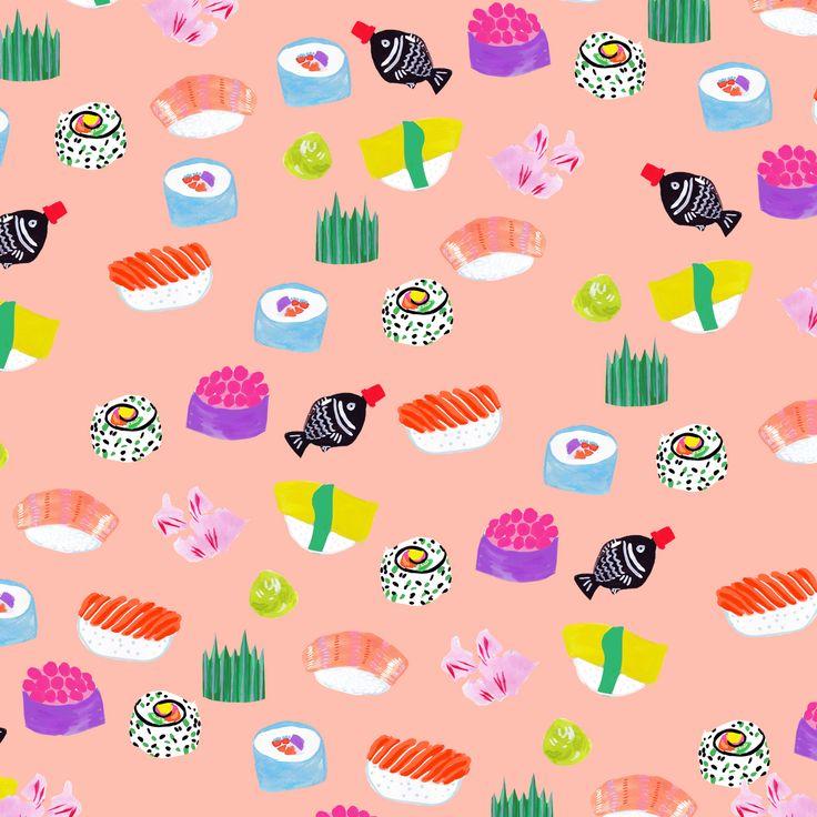 すし - Jessica Singh - illustrator