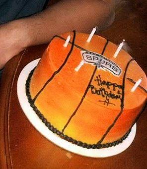San Antonio Spurs Cake!