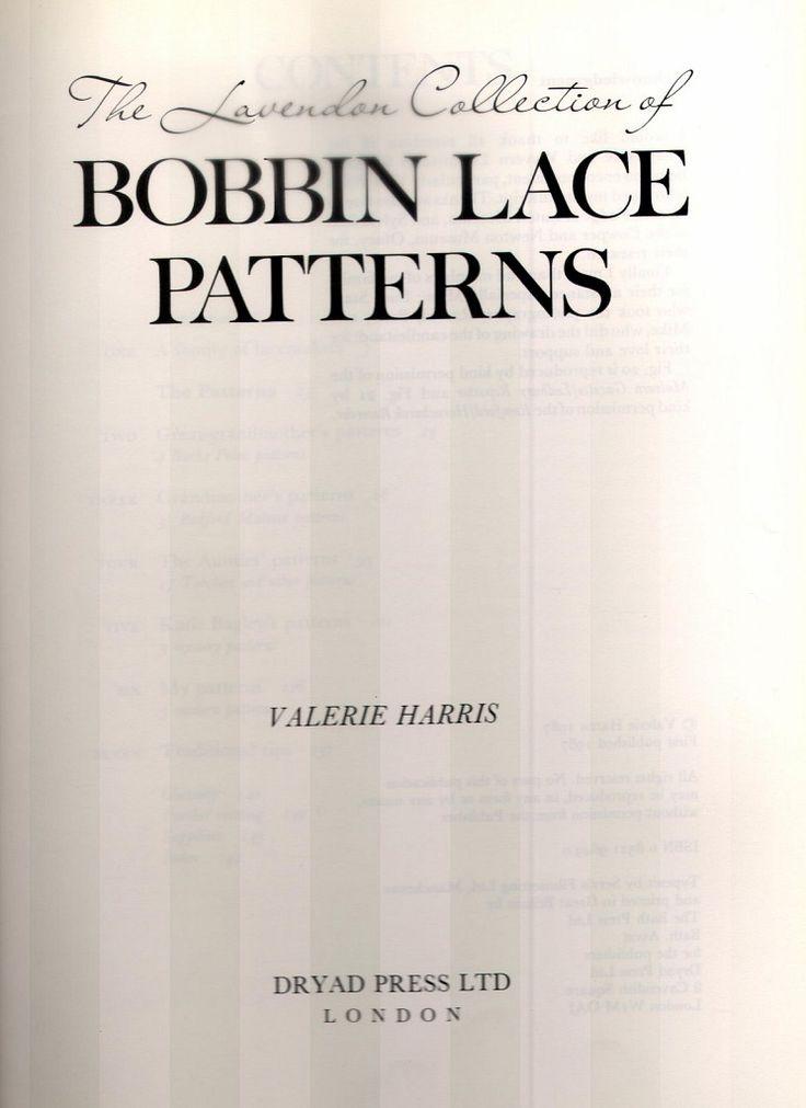 Bobbin Lace Patterns | 92 фотографии