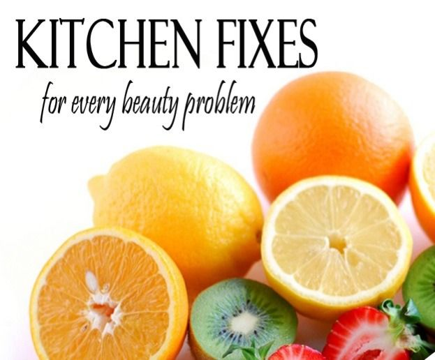 Kitchen Fixes For Every Beauty Problem #Beauty #Trusper #Tip