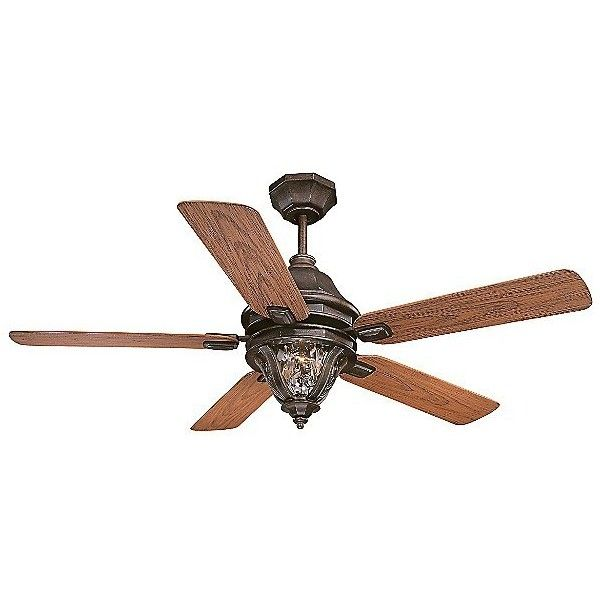 Savoy House Monticello Outdoor Ceiling Fan ($530) ❤ liked on Polyvore featuring home, outdoors, outdoor decor, clear water, outdoor garden decor, garden decor, outdoor ceiling fans and outside ceiling fans