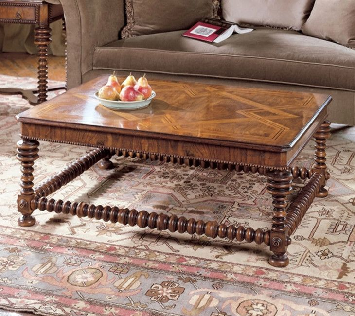 Luxury Home Furniture Design Of Tuscany Italian Cocktail Table - pictures, photos, images