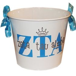 ZTA bucket  www.sassysorority.com