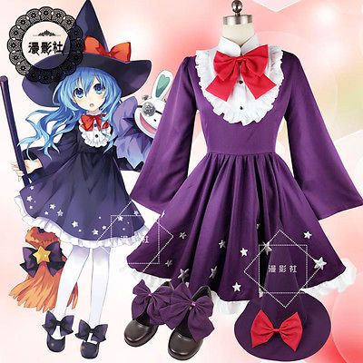 New! DATE · A · LIVE Cos clothes Yoshino Hag Dress Cosplay Clothes