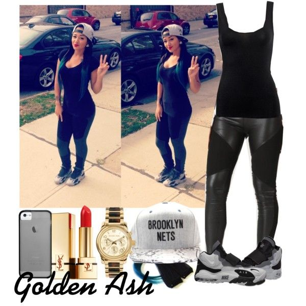 Brooklyn Nets Speed Turf, created by fashionsetstyler on Polyvore