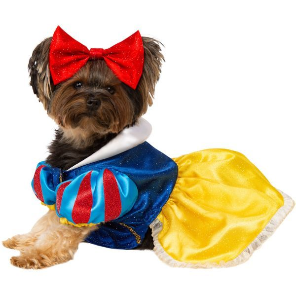 Snow White Dog Costume Size Xl Pet Costumes For Dogs Pet