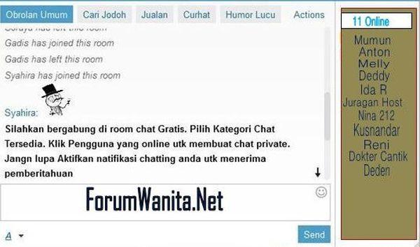 papan obrolan chatting