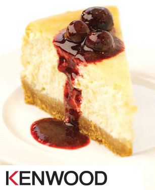 New York cheesecake with blueberry and blackberry drizzle - Taste