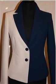 Original Blauw/witte blazer Froukje Froukje de Both | Zapstore.nl