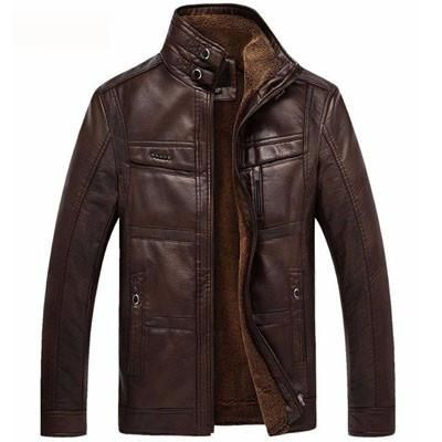 Men's Urban Leather Jacket
