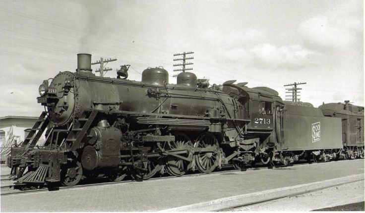 Soo Line locomotive 2713 was built in May, 1911 by the American Locomotive Company of Schenectady, New York.